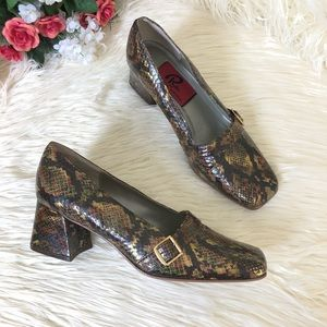 Phyllis Poland Vintage Genuine SnakeSkin Heels